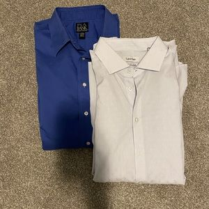 17-34 Jos. A. Bank and Calvin Klein Dress Shirts